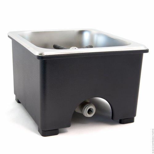 Espresso Parts Pan Dimensions Counter Top Rinser, 6 by 6 by 2'', Stainless Steel by EspressoParts (Image #4)