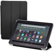 Nupro Tri-fold Standing Case for Fire HD 8 Tablet, Black (10th Gen, 2020 Release)