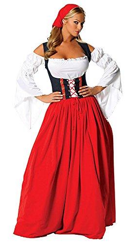 Swiss Costumes (Miss Swiss Costume Oktoberfest Costume (X-Large))