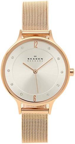 スカーゲン SKAGEN 腕時計 時計 SKAGEN SKW2151 ANITA アニタ スチールメッシュ 30MM レディース腕時計ウォッチ ローズゴールド [並行輸入品]