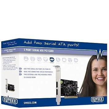 Sweex PU100 2 Port Serial ATA PCI Card Windows