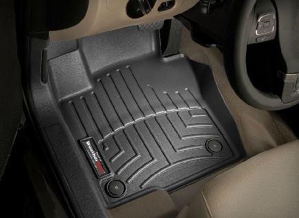 2011-2013 Volkswagen Jetta / GLI Black WeatherTech Floor Liner (Full Set) [Sedan]