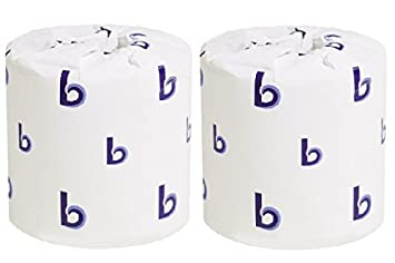 Amazon.com: Boardwalk One-Ply Toilet Tissue, 1000 Sheets, White, 96 ...