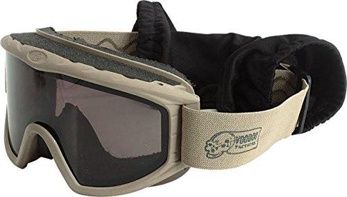 VooDoo Tactical 02-0302007000 Ballistic Resistant Goggle Set, Coyote