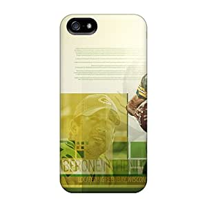 Waterdrop Snap-on Green Bay Packers Cases For Iphone 5/5s