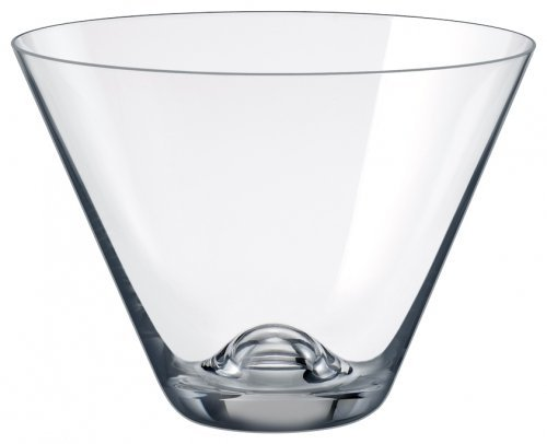 Rona Slovakia - Lead Free Crystal Martini Stemmless Wine Glass, Set of 4 (Cosmo Glasses Stemless)