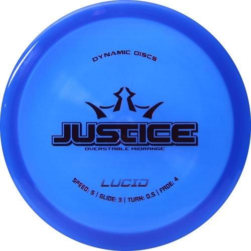 Dynamic Discs Lucid Justice Midrange 160-169g