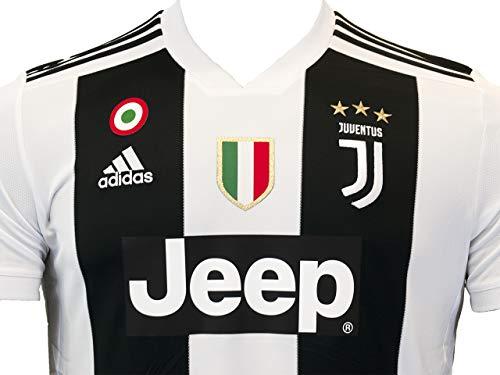 Home Maglia Uomo Cristiano 2018 Ronaldo Bianco bianco Jsy Juve H Adidas nero Gara 2019 wTqXaSBxF
