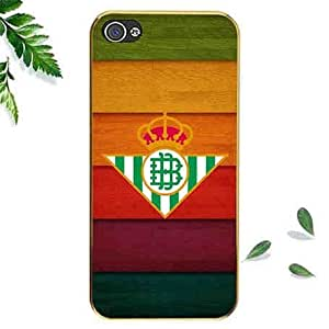 Unqiue Iphone 5 5s Case Carcasa-Snap On Real Betis Team Sport Phone Case For Iphone 5