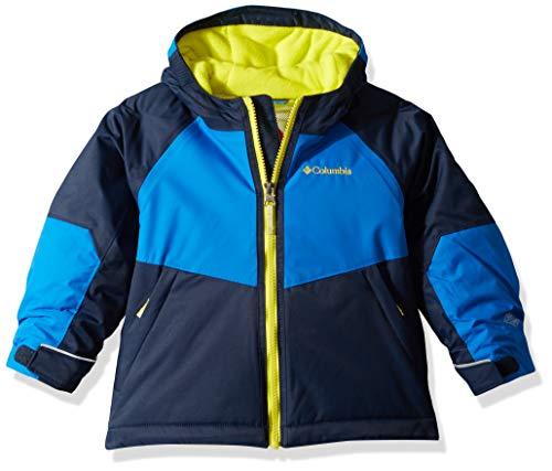 Columbia Toddler Boy's Alpine Action Ii Jacket, 3T, Collegiate Navy/Super Blue