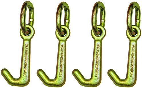 B/A Products 11-7J-L Hook Cluster, Mini J on link, 2 Height, 3 Width, 6 Length (Fоur Paсk)