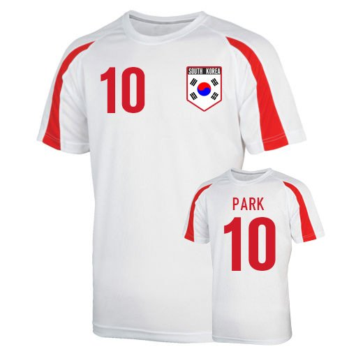 South Korea Sports Training Jersey (park 10) Kids B079DM4FKSWhite XSB (3-4 Years)