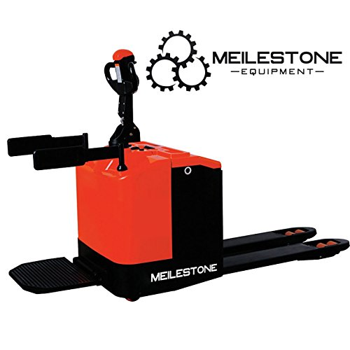 (Meilestone Heavy Duty Electric Pallet Truck, Electric Pallet Jack 5500lb Capacity 2 Year US Warranty & Service)