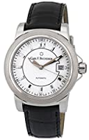 Carl F. Bucherer Patravi AutoDate Automatic Steel Mens Strap Watch White Dial 00.10617.08.23.01