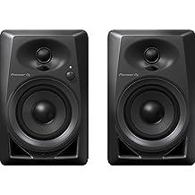 Pioneer DM-40 Negro altavoz - Altavoces (Corriente alterna, 110 - 240 V, 50 - 60 Hz, Mesa/estante, DJ, Integrado)