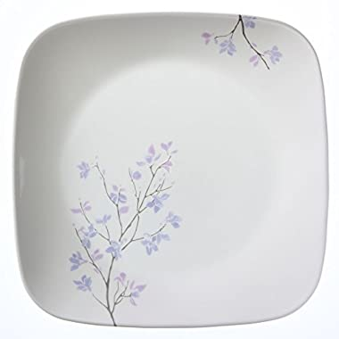"Corelle Square Jacaranda 8.75"" Luncheon Plate (Set of 4)"