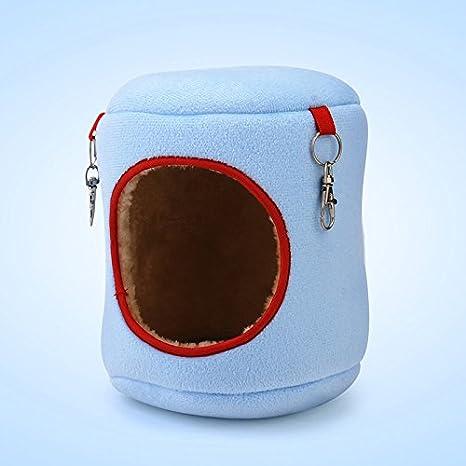 SMARTrich Cómoda cama con forma de jaula para mascotas suspendida para el dormitorio de los animales, hamaca, gato, chinchilla, hámster: Amazon.es: ...