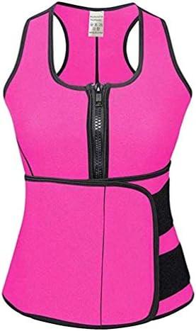 Supvox Neopren Weste Damen Figurformend Body Shapewear Sauna Körperformer Taillentrainer Trägershirt Bauchweggürtel Gewichtsverlust Tank Top für Frauen
