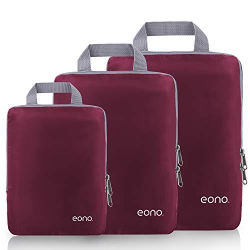 🥇 Eono by Amazon – Organizadores de Viaje de compresión expandibles