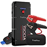 Car Jump Starter, Trekpow G22 1500A Peak 12V Auto Battery Booster