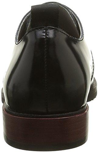 Noir Matin Chaussures Devine Un veau Femme Polido Noir Lacées D'eté Uqdzwxv