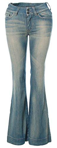 Jeans Pantalones de yoga de drykorn turquesa