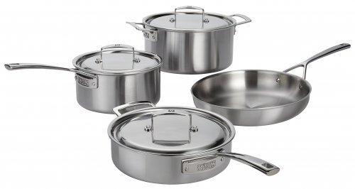 5 Ply Cookware Set (Zwilling Aurora 5-ply 7pc Stainless Steel Cookware)