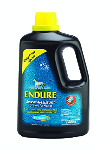 Fly Sweat Spray Resistant Endure (Farnam Equine Endure Sweat-Resistant Fly Spray for Horses)