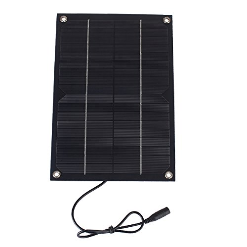 Universal 6W 12V 500mA Solar Cell Solar Panel Powerbank For 12V Battery Charger