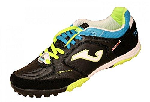 Joma - Zapatillas de fútbol sala para hombre Negro BLACK-LIME negro