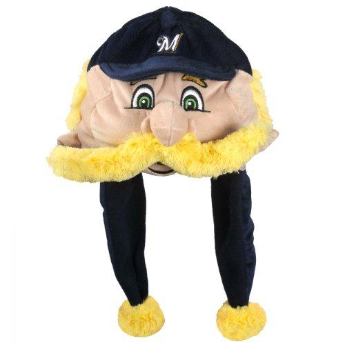 MLB Milwaukee Brewers Thematic Mascot Dangle Hat (Mascot Accessories)