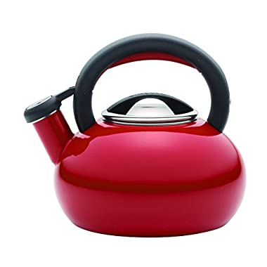 Circulon 1-1/2-Quart Sunrise Teakettle, Circulon Red