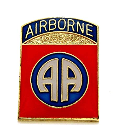 (82nd Airborne Divison US Army Lapel Hat Pin Gift Military PPM1927 )