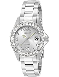 Women's 15251 Pro Diver Silver Dial Crystal Accented...