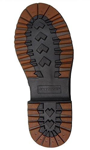Skechers Denton pour Westlee de Bottines en cuir Marron Brown / Olive apebWW3Xo