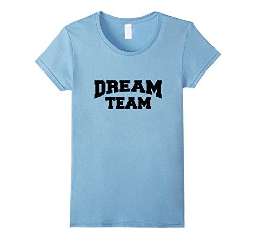 Women's Dream Team Shirt Medium Baby Blue