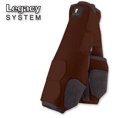 Classic Equine Legacy SMB Boots FRT Medium Chocola
