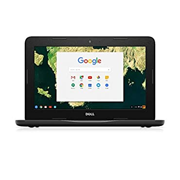 Dell 11.6 Celeron N3060 4GB RAM 16GB eMMC Chromebook in Black 83C80