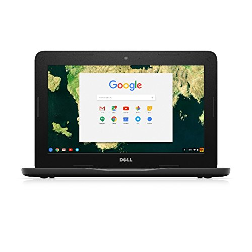 Dell Chromebook 11 11.6-Inch Traditional Laptop (Black)
