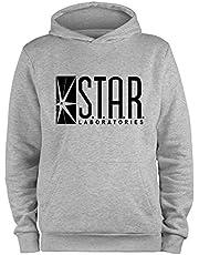 Styletex23 Pullover met capuchon Star Laboratories Labs Logo