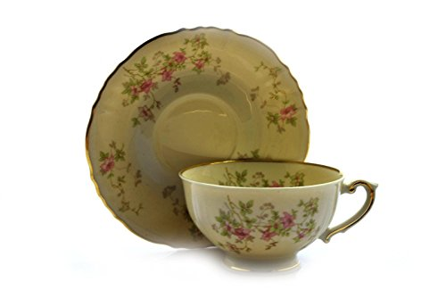 Syracuse China Federal Shape Stansbury Cup and Saucer Set (s)