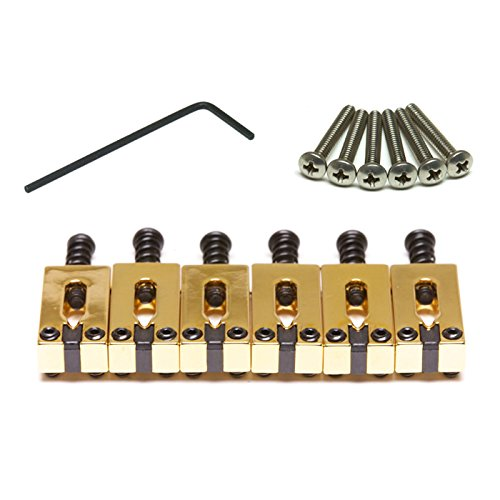 Graph Tech String Saver Saddles Stratocaster Telecaster 2 1/16 Spacing by GTI - Graph Tech Innovations