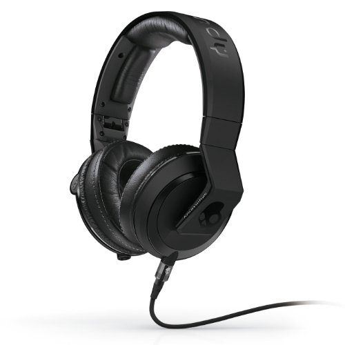 Skullcandy Mix Master Headphones with DJ Capabilities and 3 Button Mic, Matte (Mix Master Headphones)