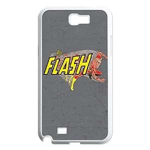 Samsung Galaxy N2 7100 Cell Phone Case White Vintage Flash Y2D3YW