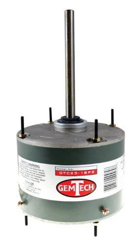 Condenser Motor, 1/4 HP 1 Sd, GemTech GTC25-1SP2 - Import ... on