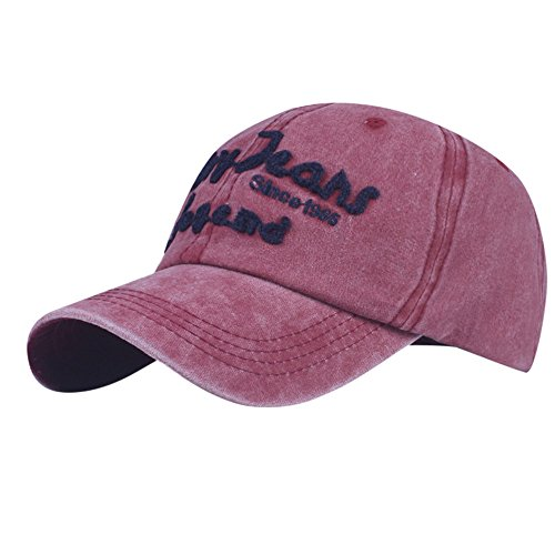 SPE969 Denim Caps Women Embroidered Flower Fashion Baseball Cap Topee