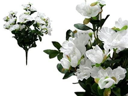 d76544641b45 Amazon.com: BalsaCircle 120 pcs White Silk Gardenia Flowers - 4 ...