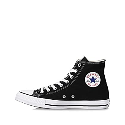 22981365270 Converse Unisex Chuck Taylor All Star Core Hi Classic Black Sneaker Men s  8.5