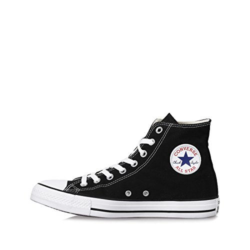 (Converse Unisex Chuck Taylor All Star High Top Oxfords Black/White 9.5 D(M))