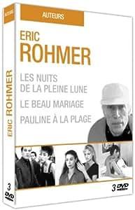 Eric Rohmer : Les nuits de la pleine lune + Le beau mariage + Pauline à la plage [Francia] [DVD]